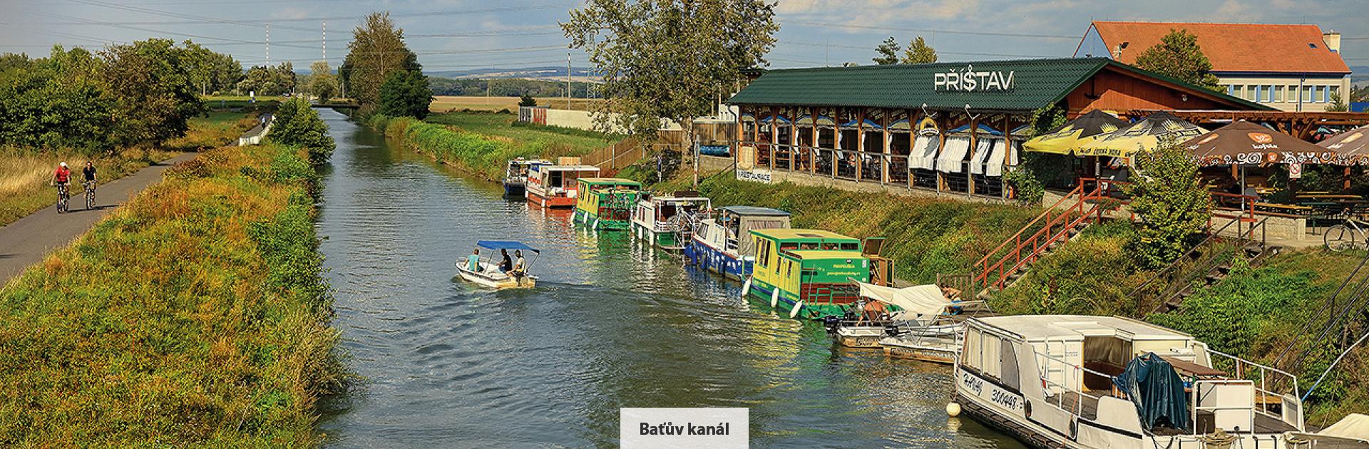 Baťův kanál, zdroj: Libor Sváček, archiv Vydavatelství MCU